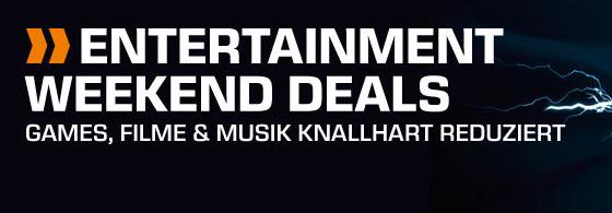 Bis Montag 9:00 Uhr: Entertainment Weekend Deals bei Saturn mit vielen Film & Musik Deals!