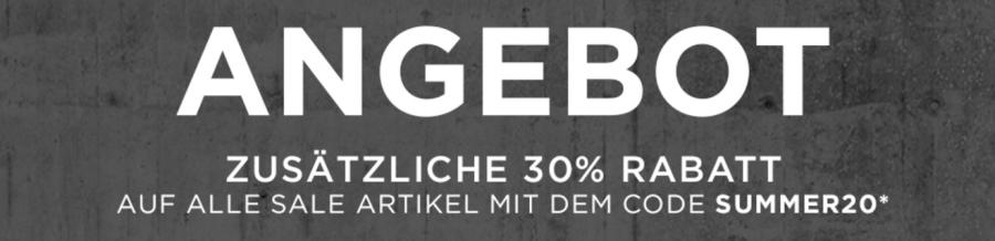30 Prozent auf Sale Angebote bei DC Shoes