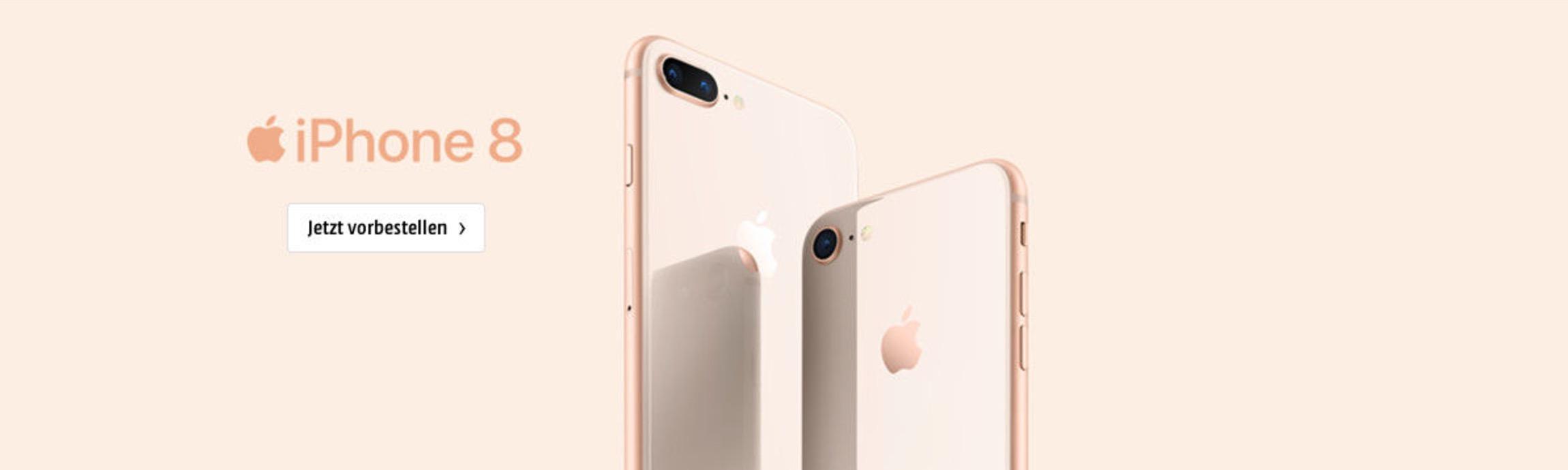 iPhone 8 Werbebanner