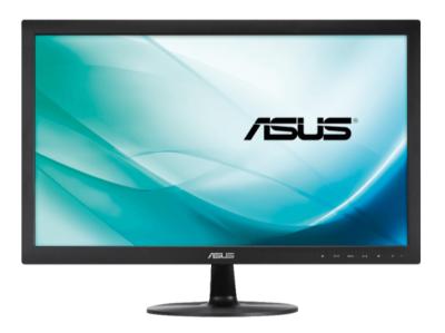 ASUS VS229NA 21.5 Zoll Full-HD Monitor mit VGA, DVI und 5 ms Reaktionszeit für 82,99 Euro