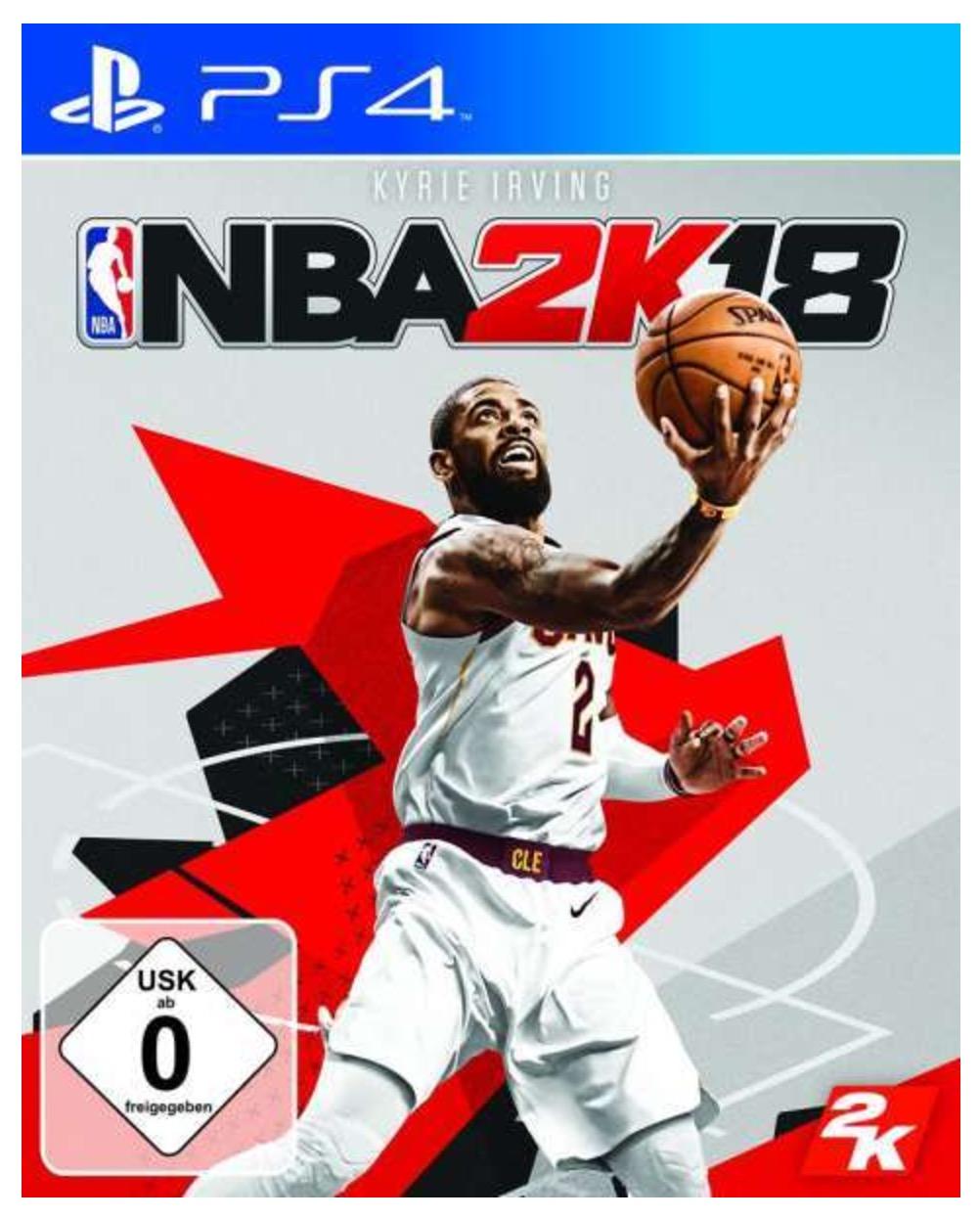 Vorbestellung: 2K NBA 2K18 (Xbox One oder PS4) für 59,99 Euro mit 14,75 Euro in Form von Superpunkten
