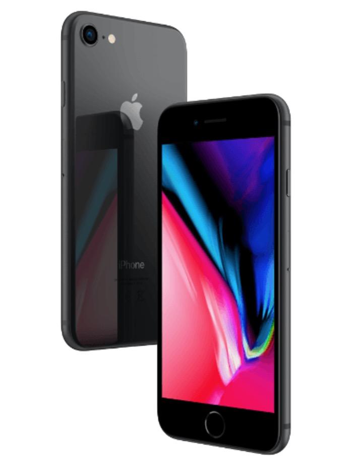 Apple iPhone 8 mit 256GB Speicher