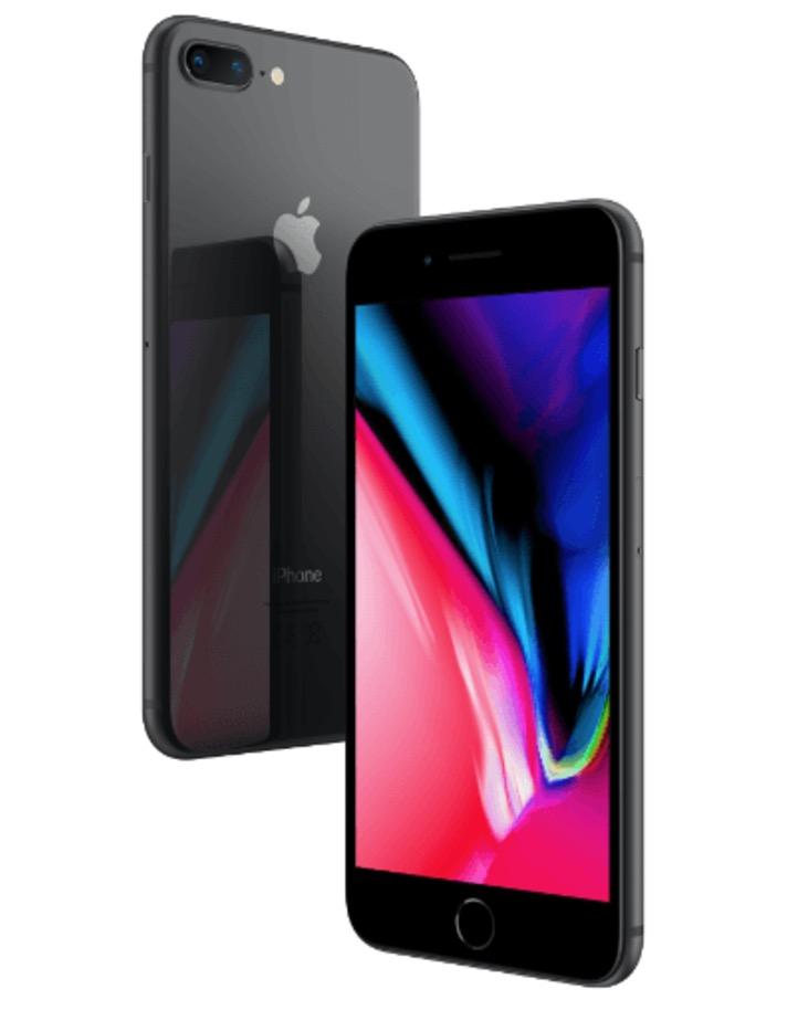 Apple iPhone 8 Plus mit 64GB Speicher