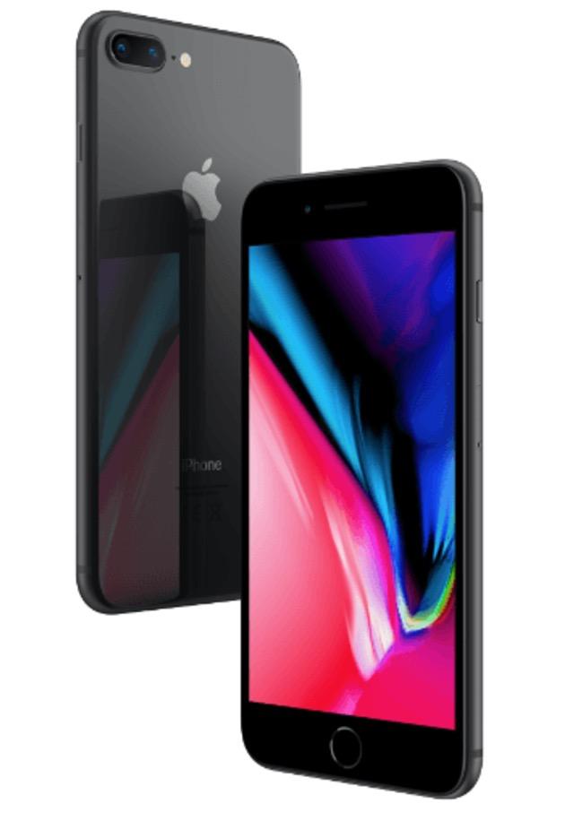 Apple iPhone 8 Plus mit 256GB Speicher