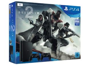 SONY PlayStation 4 Slim Konsole 1TB + Destiny 2 + 2. Controller für nur 299,- Euro