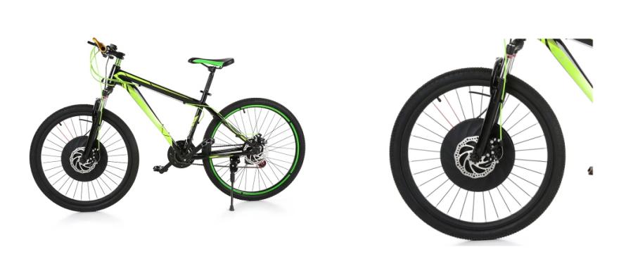 E-Bike Umbausatz für 26 Zoll Mountainbikes