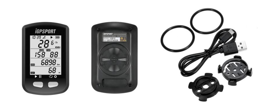 GPS Fahrradcomputer mit Bluetooth und ANT+