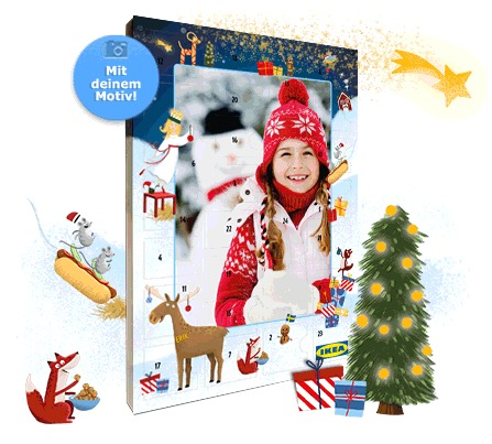 ab dem 18 september ikea adventskalender 2018 nur 12 95 euro mit mindestens 10 euro ikea. Black Bedroom Furniture Sets. Home Design Ideas