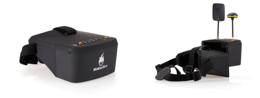 5,8GHz FPV Goggle Makerfire EV800D