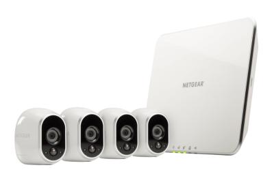 Netgear Arlo System mit 4 Kameras bei MediaMarkt