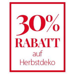 30% Rabatt auf Herbstdeko im NKD Onlineshop + 5,- Euro Newslettergutschein