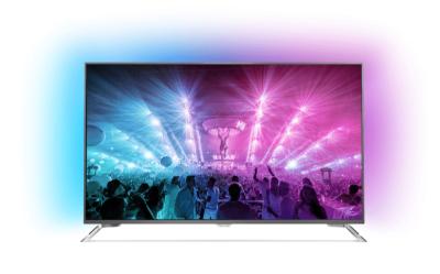 75 Zoll Fernseher PHILIPS-75PUS7101 mit Ambilight
