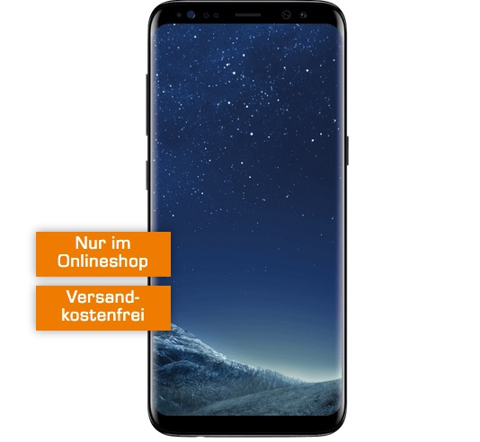 O2 Free M mit Samsung Galaxy S8