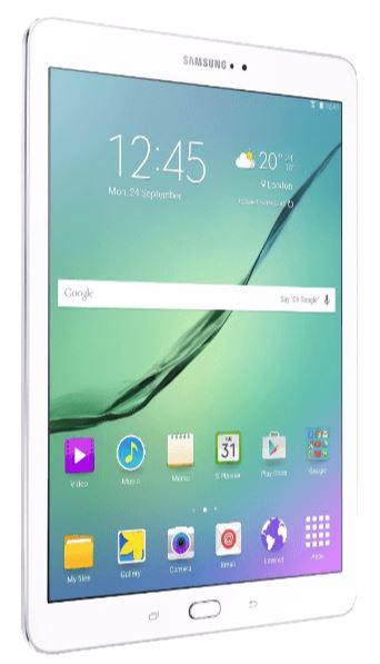 9,7″ SAMSUNG Galaxy Tab S2 Tablet in Weiß für nur 311,- Euro inkl. Versand