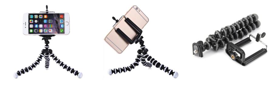 Flexibles Tripod Stativ für Smartphones und Kameras