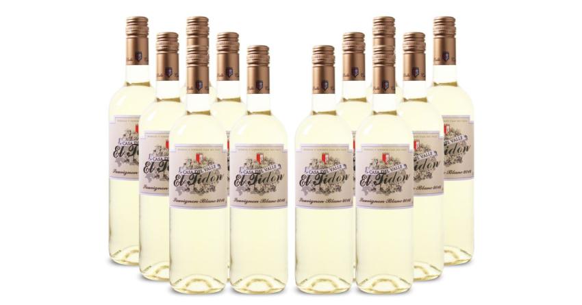 12 Flaschen Weisswein