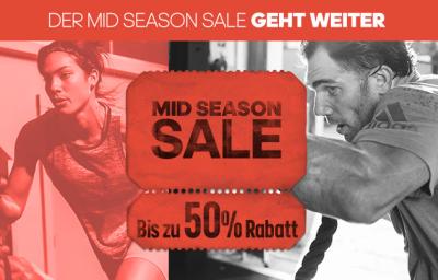 Adidas Midseason Sale mit bis zu 50% Rabatt