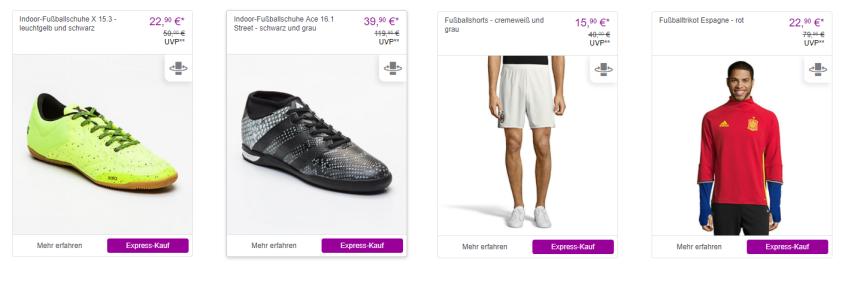 Adidas Performance Sale bei Vente-Privee