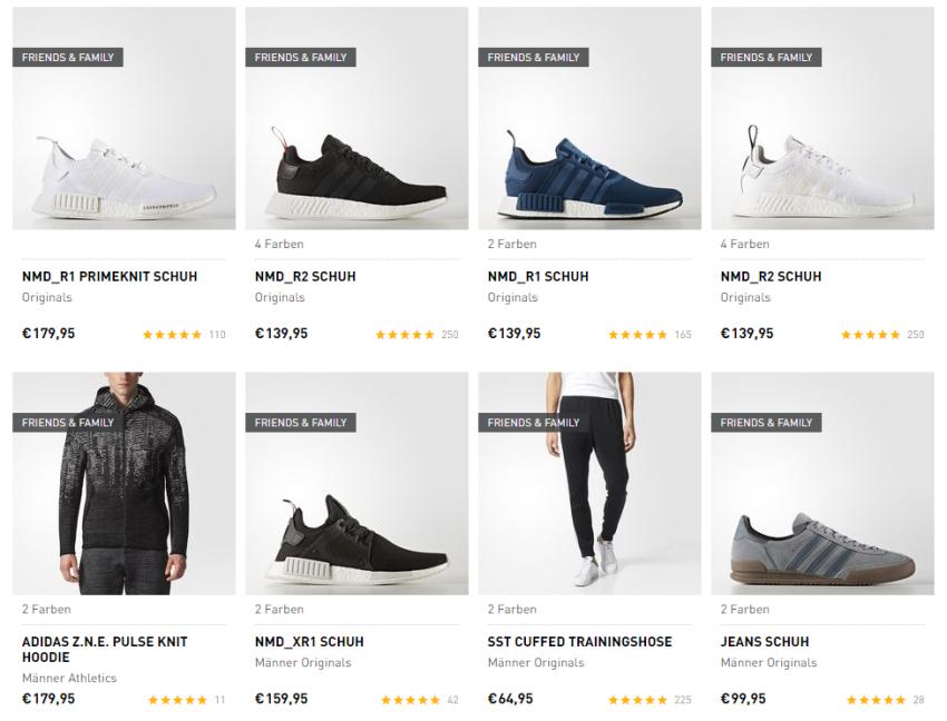 Reduzierte Artikel bei Adidas