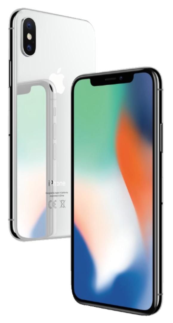 Apple iPhone X in Grau mit 64GB Speicher