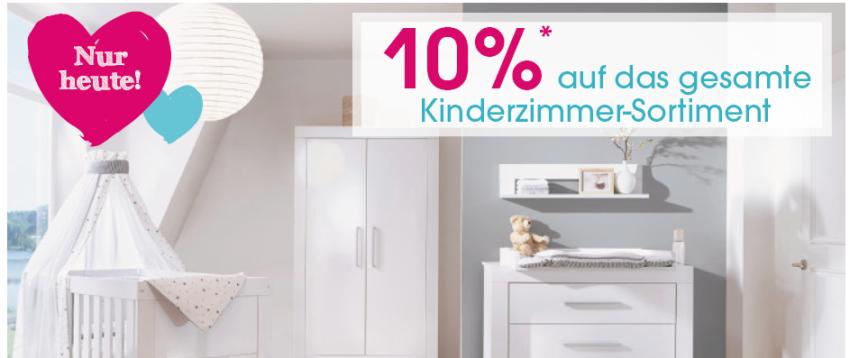 Gutschein auf Kinderzimmer bei Babymarkt.de