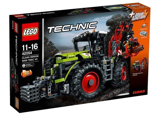 Lego Technic Claas Xerion Traktor mit Motor und fast 2000 Bauteilen
