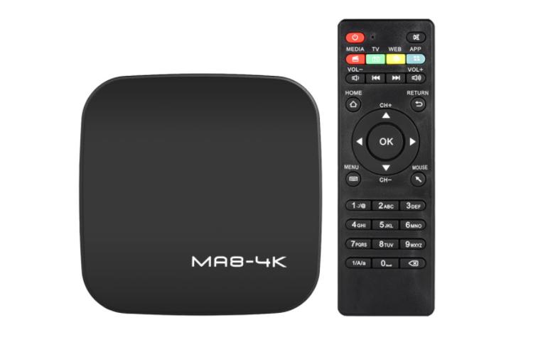 MA8 TV Box bei Cafago