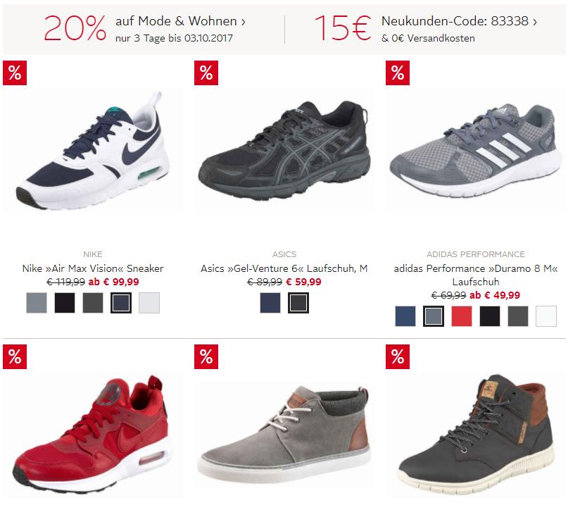 Sneaker Sale bei Otto.de