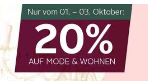 Gutschein Otto Wohnen