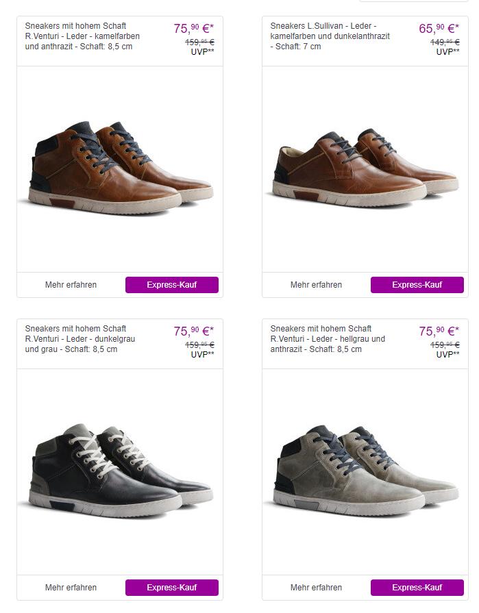 NoGRZ Schuhe reduziert bei Vente-Privee