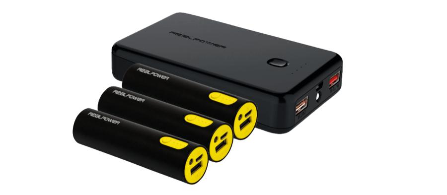 4er Pack Powerbanks bei MediaMarkt