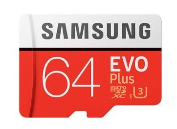 Samsung 64GB EVO Plus mit 64GB nur 16,75 Euro
