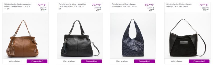 Handtaschen Sale bei Vente-Privee