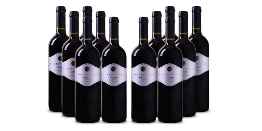 12 Flaschen Merlot für 39,99 Euro