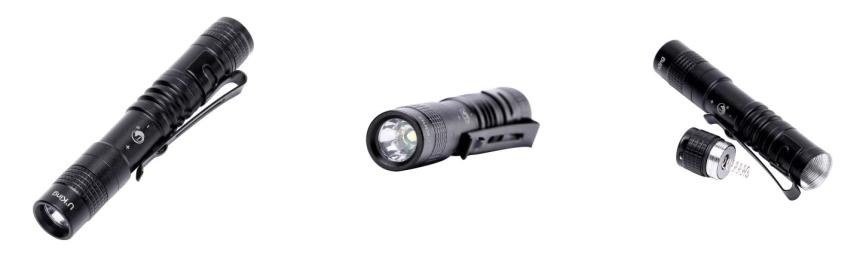 LED Taschenlampe für 85 Cent bei Gearbest