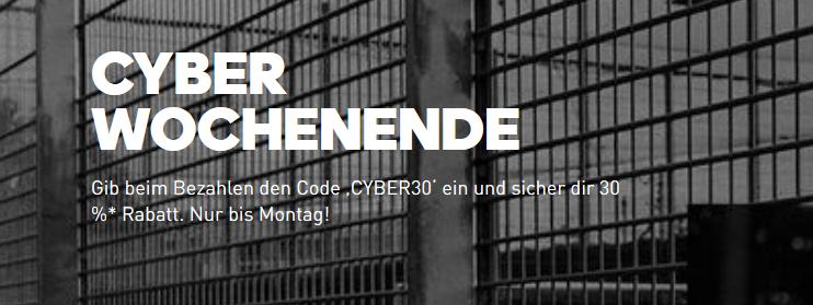 Adidas Cyber Wochenende