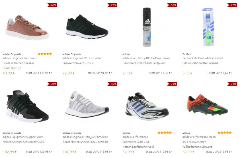 Adidas Schuhe und Klamotten reduziert bei Outlet46