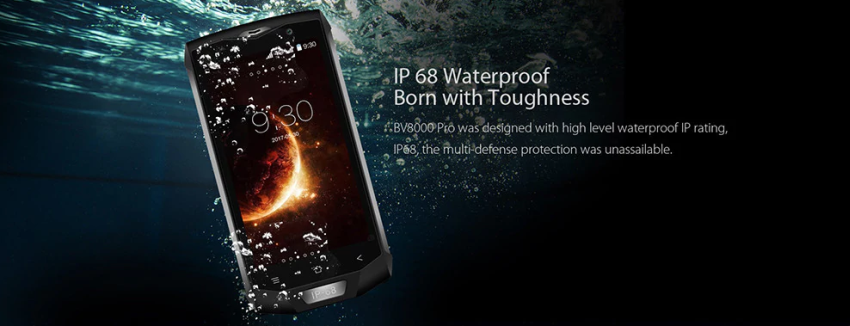 Blackview BV8000 Pro Smartphone mit IP68 Schutz