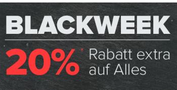 Dress-for-Less Black Week mit 20% Rabatt auf das gesamte Sortiment
