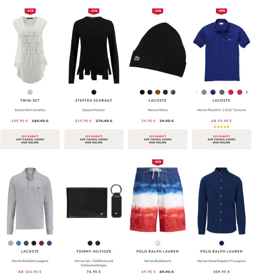 Engelhorn Mode Weekly Deal Beispiele