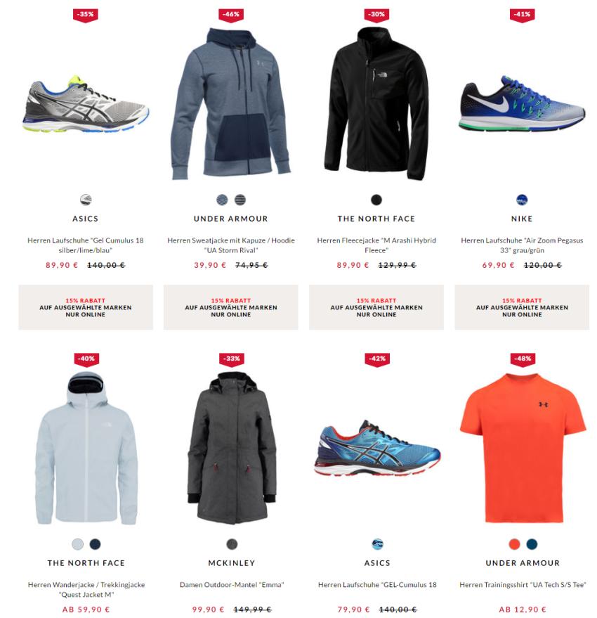 Engelhorn Sport reduzierte Angebote