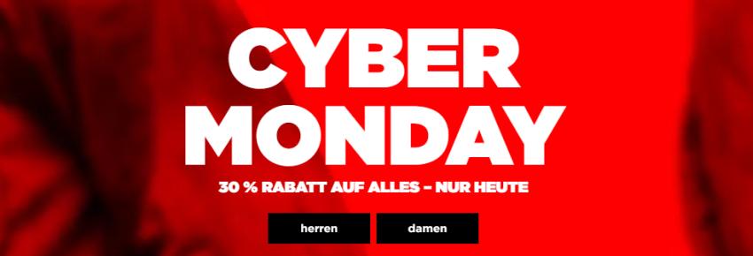 Cyber Monday bei G-Star