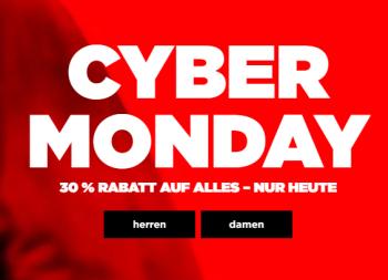 30% Rabatt uzm Cyber Monday bei G-Star