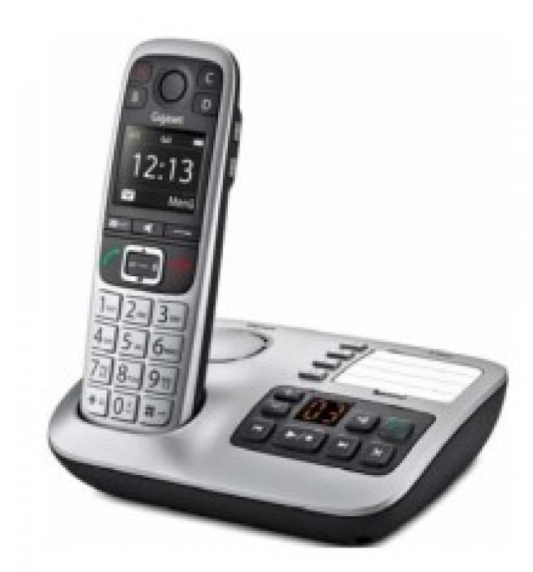 Gigaset E560 A Schnurloses DECT Telefon mit
