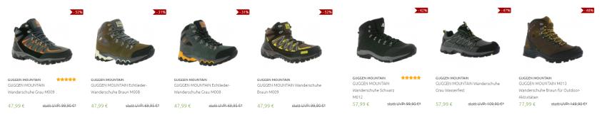 Guggen Mountain Schuhe