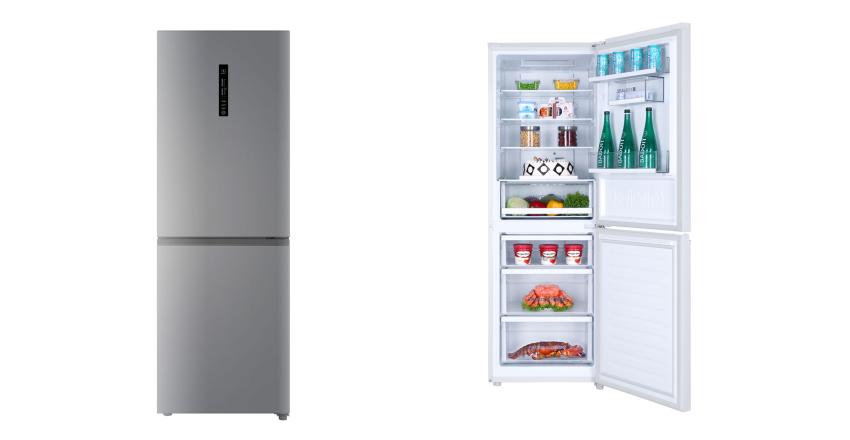 Kühlschrank Haier : Haier c3fe732csj kühl gefrierkombination mit no frost für nur 399