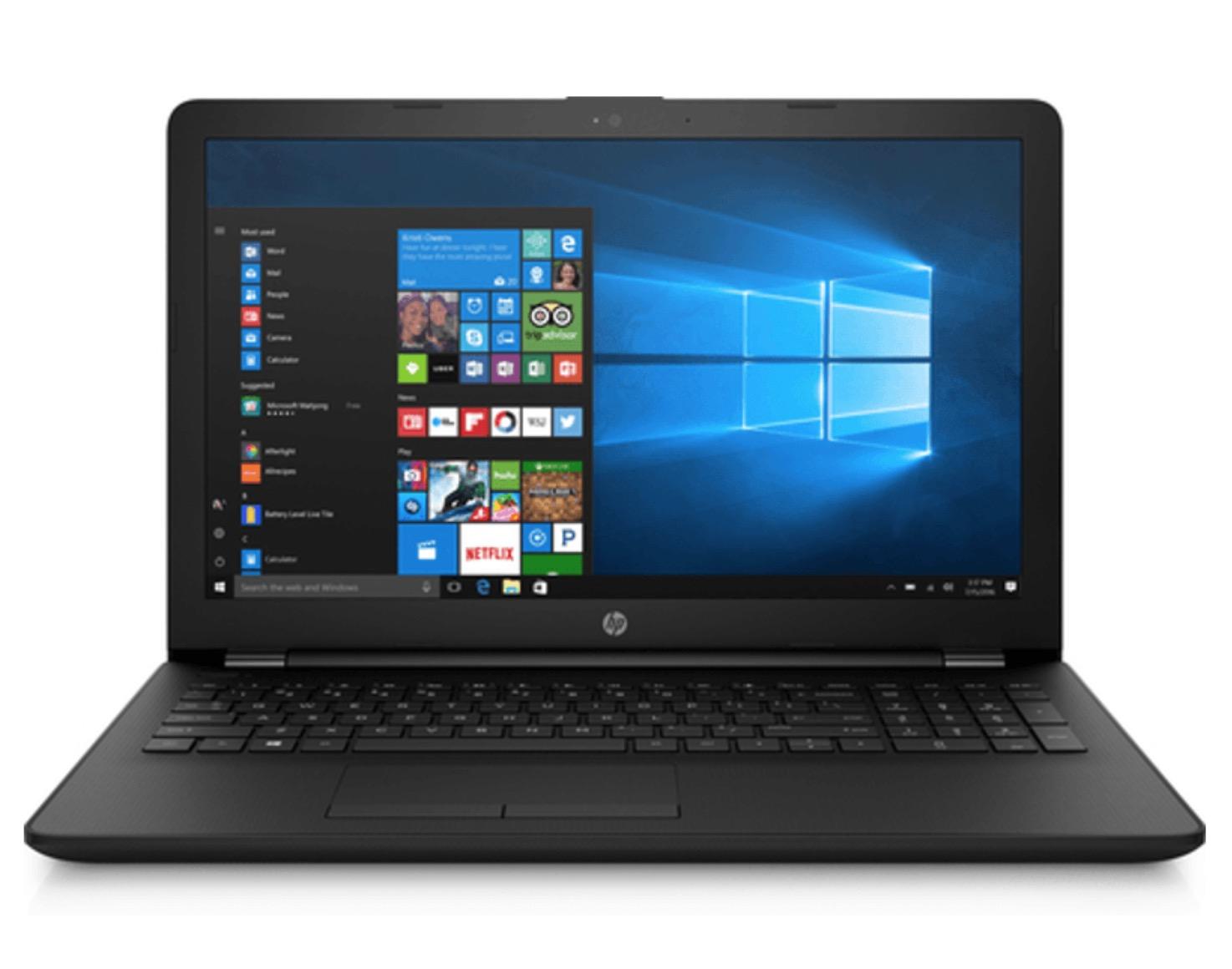 HP 15-bs530ng Notebook mit 15.6 Zoll Display