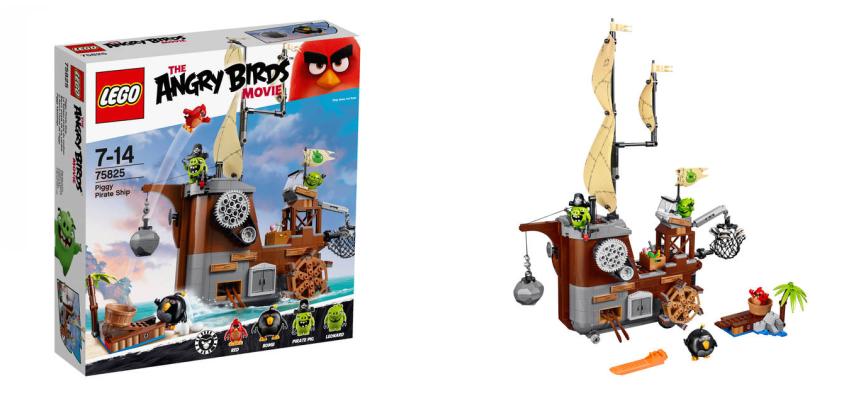 Angry Birds Lego Set