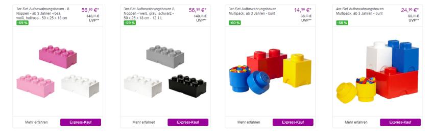 Lego Angebote bei Vente-Privee