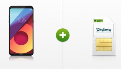 Smart Surf Telefónica Tarif mit LG Q6 Smartphone für nur 9,99 Euro und einmalig 1,- Euro Zuzahlung